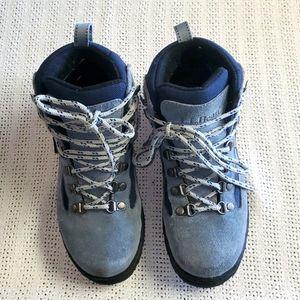 L.L. Bean Gore Tex sz. 4 Blue Hiking Boots